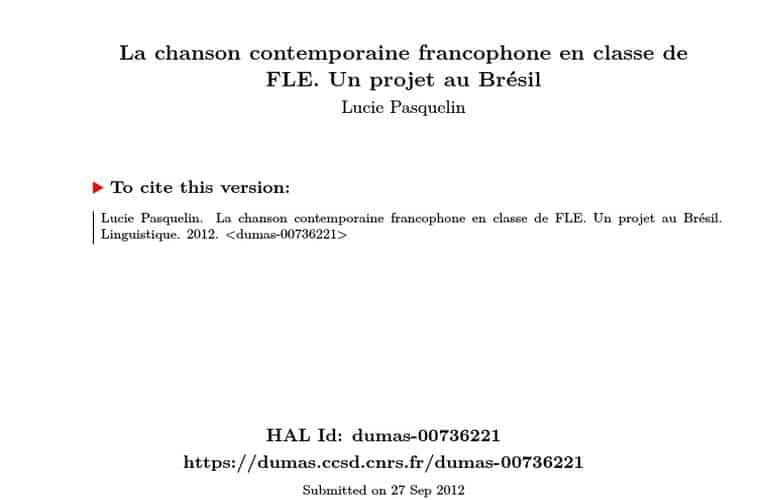 VBH – Artiste – Conseil Francophone de la Chanson